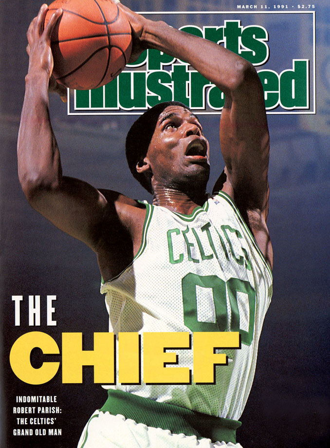 Best known as the defensive anchor of the Larry Bird-led Celtics teams of the 80s, Parish was also outstanding on the offensive side of the ball, a smooth jump shooter who hit at a nearly 54% clip from the floor in his 21-year career and averaged 14.5 points. A four-time NBA champion and nine-time All-Star, Parish's athletic ability and utility on both ends as a 7-foot center foreshadowed the direction in which his position would head decades later.