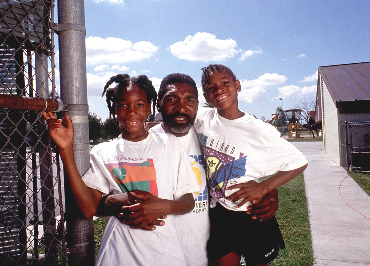 Growing up in Compton, the Williams sisters worked tirelessly to hone their skills.