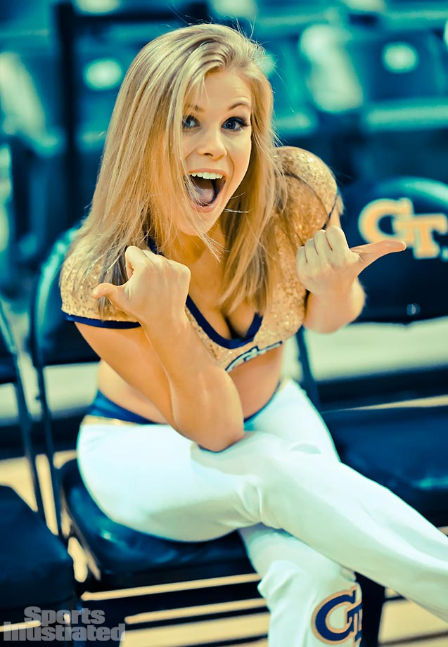Meet Hannah of the Georgia Tech Goldrush Dance Team, who was a competitive fencer in high school and whose celebrity crush is Skylar Astin.
