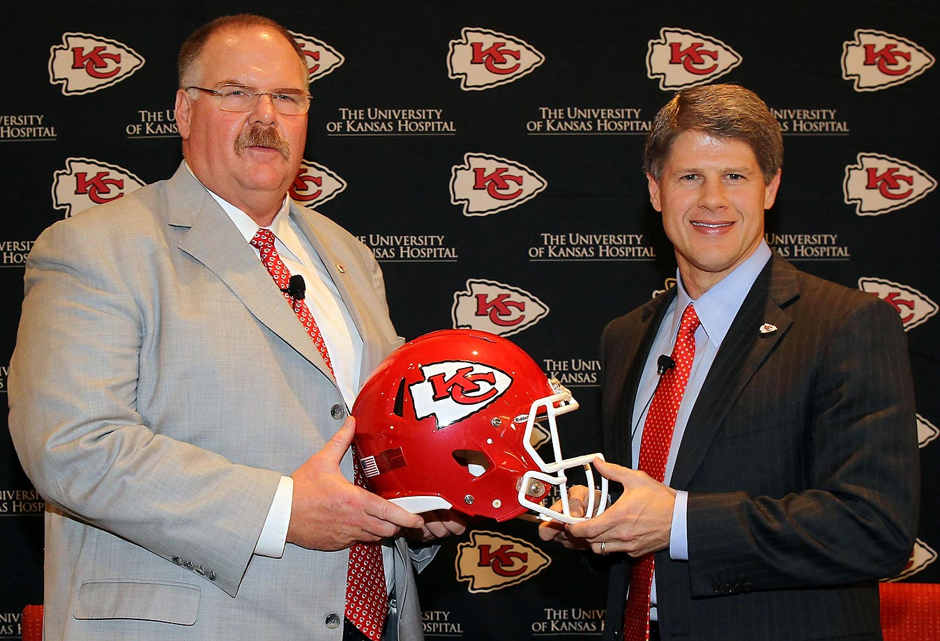 Almost all season long, Eagles fans had been calling for the organization to axe longtime head coach Andy Reid. On Dec. 31, 2012, after watching their team go 4-12, the Philadelphia fans got their wish, and Reid was fired. Four days later, the 54-year-old already had a new destination -- Kansas City.