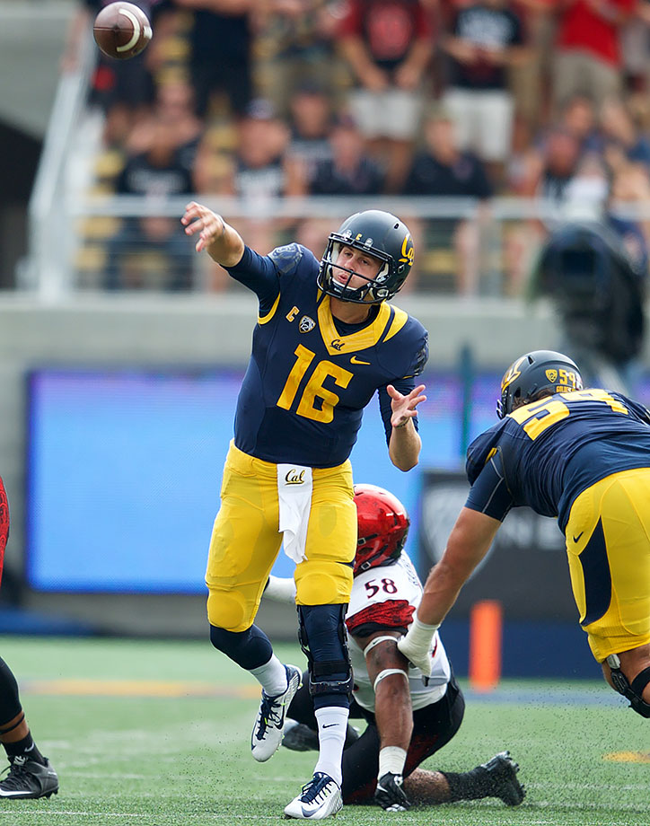 Carson Wentz has built a lot of momentum, but no quarterback in this draft can sling it like Jared Goff. He's capable of throws that look like actual wizardry. Hue Jackson's new offense is a blank slate, and Goff wouldn't be a bad place to start.