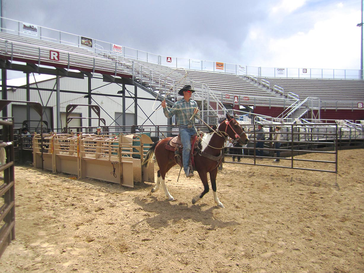 Sports Illustrated traveled to Spanish Fork Fairgrounds in Spanish Fork, Utah, to honor Wyatt before the South Utah County High School Rodeo, sponsored by his high school team.
