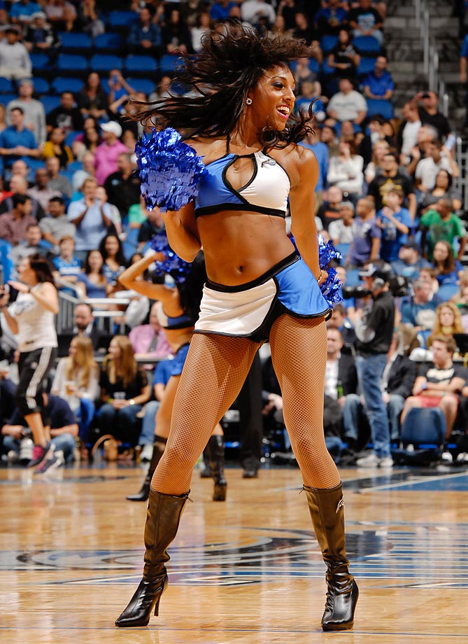 "Meet Priya of the Orlando Magic, whose favorite website is Facebook and has been known to sleep with one eye open. Her celebrity crush is Will Smith because, ""...he is funny and a cutie pie!"""