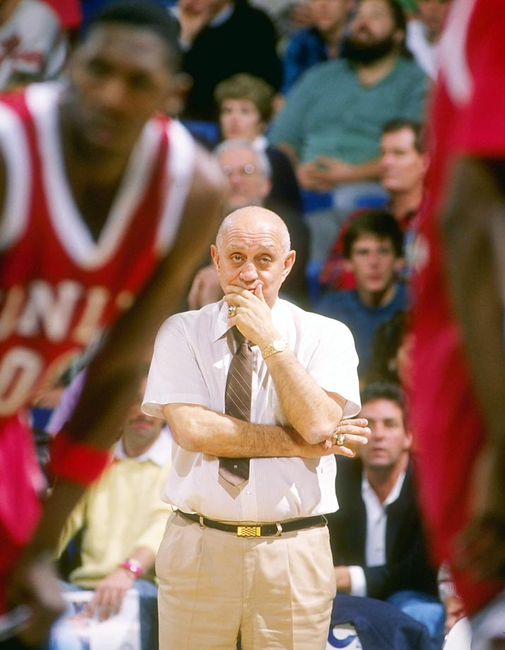 Tarkanian's teams are mainly remembered for being high scoring even before the shot clock, but his biggest contribution to the game may be his amoeba defense. The amoeba defense is a gambling zone that he employed as an off-look from his standard man-to-man defense, and it disrupted offenses. Tarkanian was also an innovator off the court; he was never afraid to point out the hypocrisy of the NCAA. History is slowly vindicating his rebel reputation.