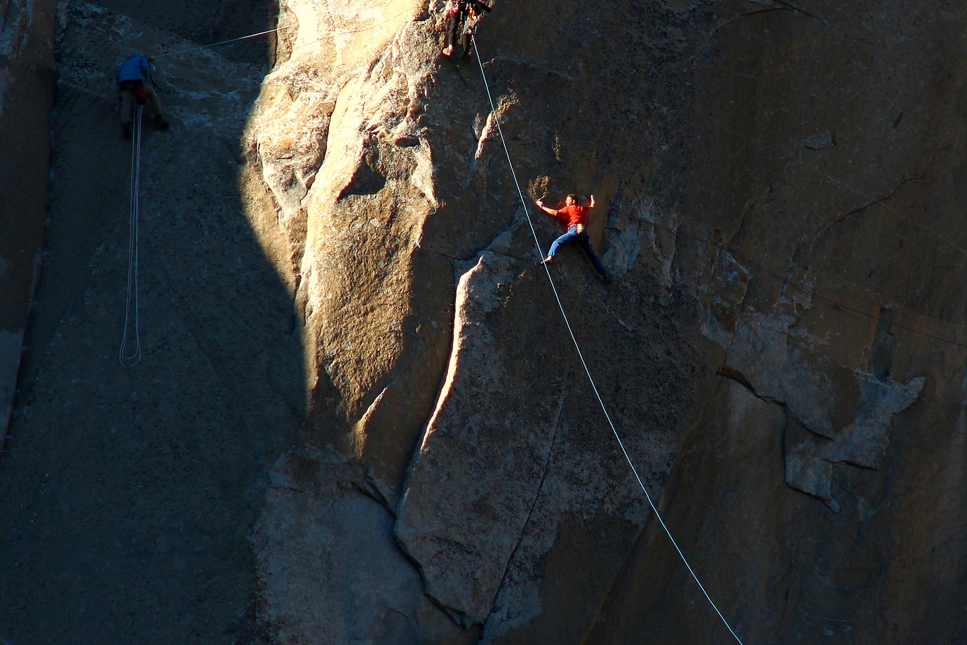 Tommy Caldwell working Pitch 15.