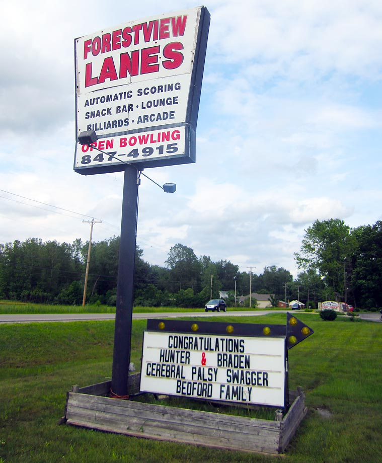 Forest View Lanes in Temperance, Mich., threw the Gandee brothers a homecoming party a week after they had first embarked on their journey. The festivities included free bowling for everyone there to celebrate the returning hometown heroes.