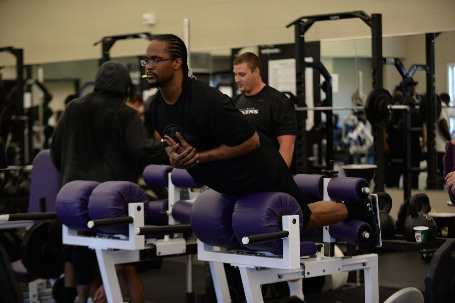 Listed behind Josh Bynes on the Ravens' depth chart, the Kansas State product will look to insert himself in the starting rotation on the defensive front.