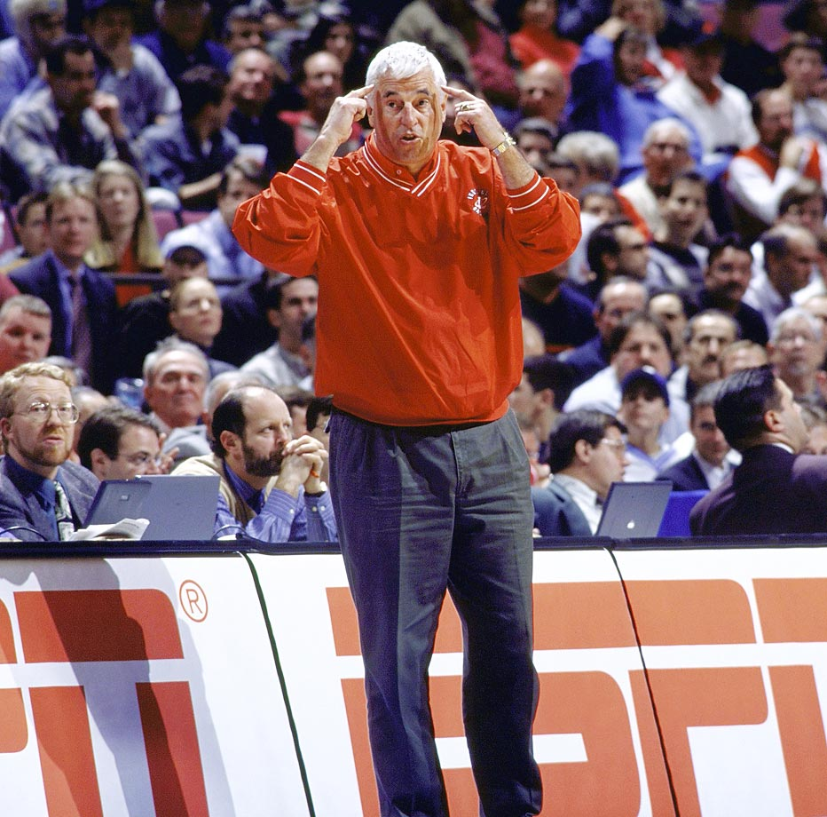 Knight developed his famous motion offense after watching Princeton run its offense while he was a coach at West Point. The motion offense revolves around spacing and emphasizes screening, slashing and passing over shooting three-pointers. The elements of this offense are still seen throughout the sport.