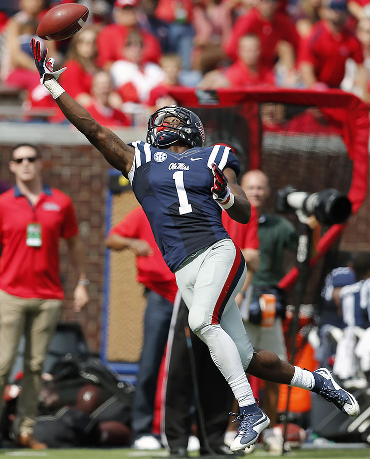 "From our preseason Big Board: ""Treadwell's biggest challenge right now is proving he is all the way back from the gruesome leg injury he suffered last season."" He did it. The physical 6'2"" receiver topped 1,000 yards on 76 receptions. Treadwell could be an immediate go-to threat for an NFL passing game."