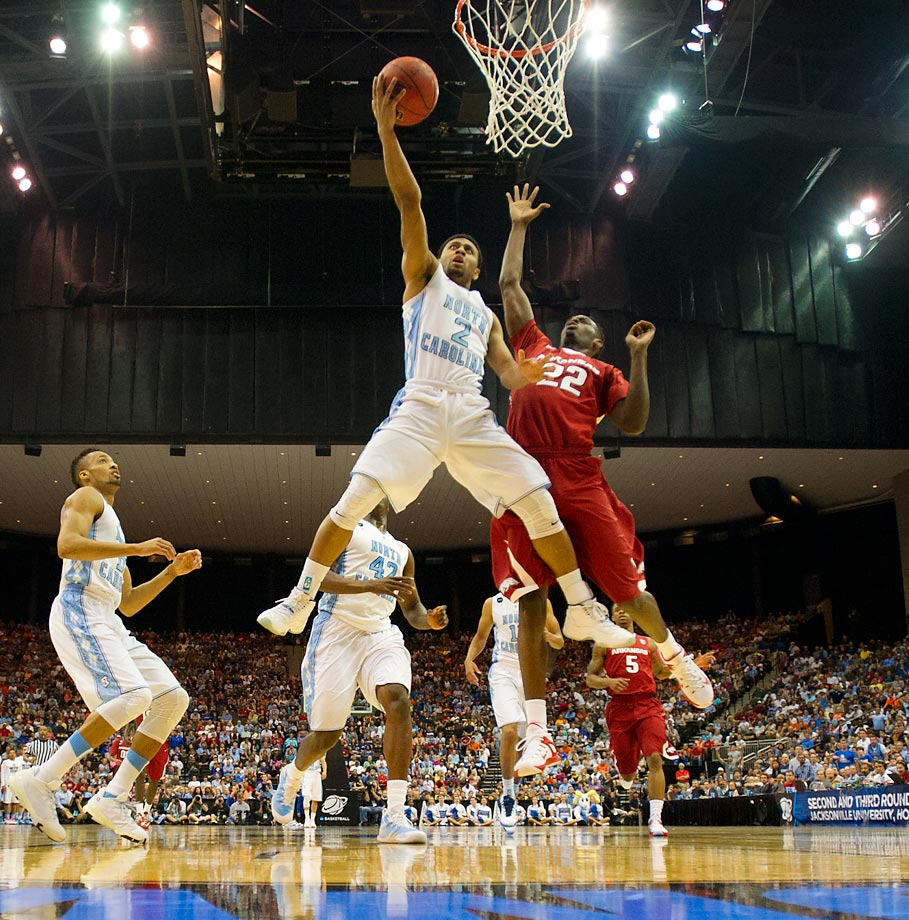 The Tar Heels have been inconsistent against top competition this year. So why should we expect them to reel off four straight wins, a stretch that may include Wisconsin, Arizona, Kentucky and Duke? The answer? We shouldn't. (Text credit: Michael Beller)