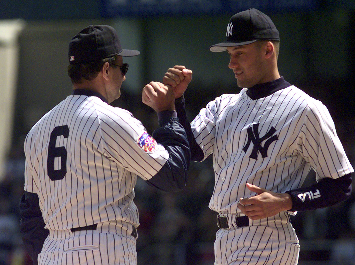 Torre, who managed the team from 1996 until 2007, won four World Series titles with the Yankees, including the last three-peat in major league history from 1998-2000. In his time with New York, Torre went 1,173-767 (a winning percentage of .605), leading the Yankees to 10 AL East titles, two wild-cards, six pennants and those four world championships. He also won the Manger of the Year award twice (in '96 and '98).