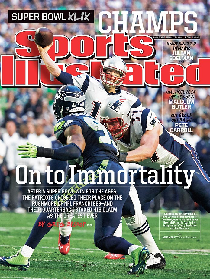 February 9-16, 2015 | The New England Patriots have cemented their legacy as one of the NFL's best dynasties ever with a fourth championship, a thrilling Super Bowl XLIX victory over the Seattle Seahawks.