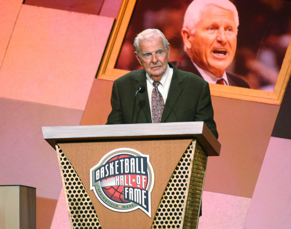 Newell achieved most of his basketball success at the end of his career, winning a national championship at Cal in 1959 and then coaching the gold medal-winning U.S. team in the 1960 Olympics. He's best known, though, for his Big Man Camp. His students included Shaquille O'Neal, Hakeem Olajuwon and Bill Walton. It became the standard destination for big men before entering the NBA draft.