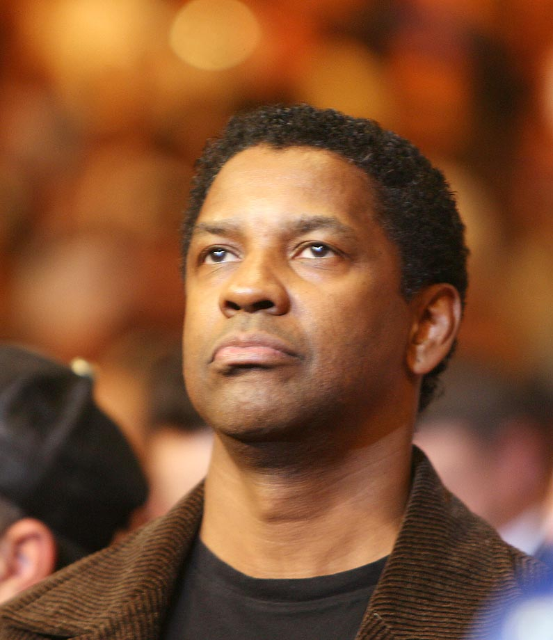 Actor Denzel Washington was in attendance at Floyd Mayweather Jr.'s 2007 knockout win over Britain's Ricky Hatton.