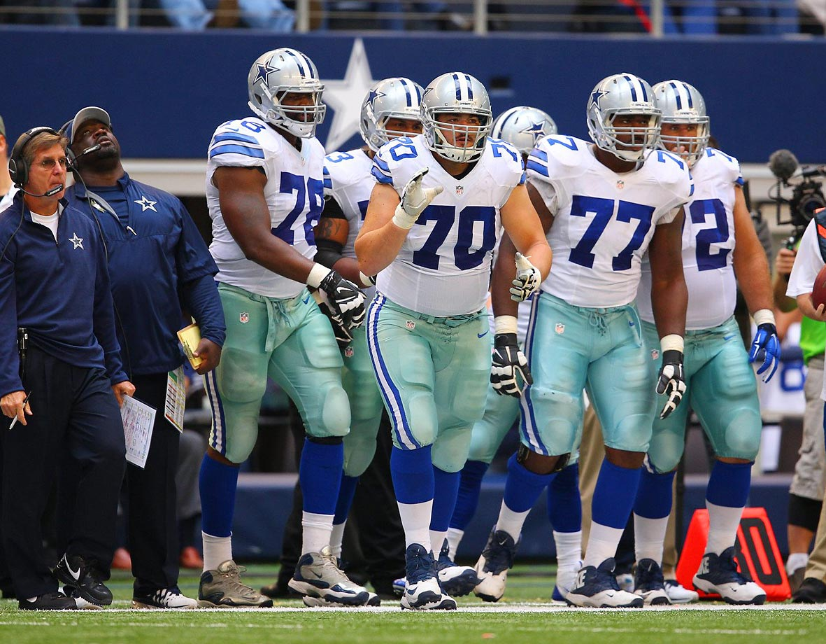 The Cowboys had what was unquestionably the league's best run-blocking line in 2014, scoring high in all of Football Outsiders's efficiency metrics: line yards, short-yardage and second-level performance. The addition of the undrafted La'el Collins from LSU to a nucleus of Tyron Smith, Travis Frederick, Zack Martin, Ronald Leary and Doug Free should propel this line to a new level. It's tough to imagine an injury-free scenario in which the Cowboys don't continue to have the league's best line in 2015 and into the future.