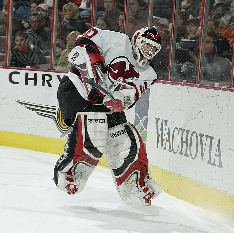 The Devils netminder was at the peak of his game by time of the lockout. He'd led the league in wins six times, backstopped New Jersey to three Stanley Cups, and won the Vezina Trophy twice. Imagine what Brodeur's career records—1,259 games, 688 wins, 124 shutouts—would be now had there not been lengthy work stoppages in 1995, 2004 and 2012.