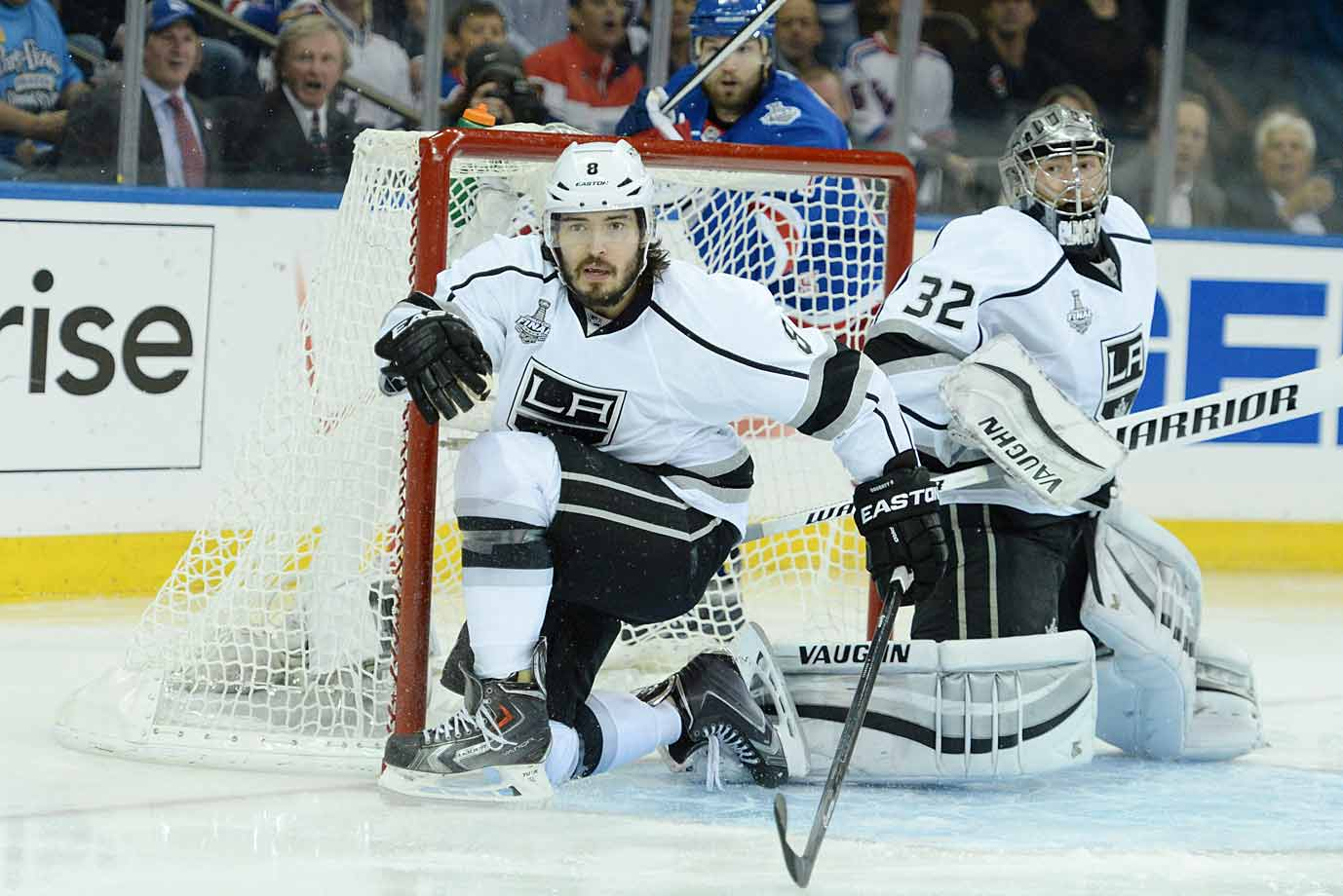 The rookie once known as Dough Boy has become a pillar of the two-time Stanley Cup-winning Kings. An exceptionally creative defenseman, he possesses one of the game's best shots and array of bodychecks. And few players seem to have more fun playing the game. He also has two Olympic gold medals on his mantle.