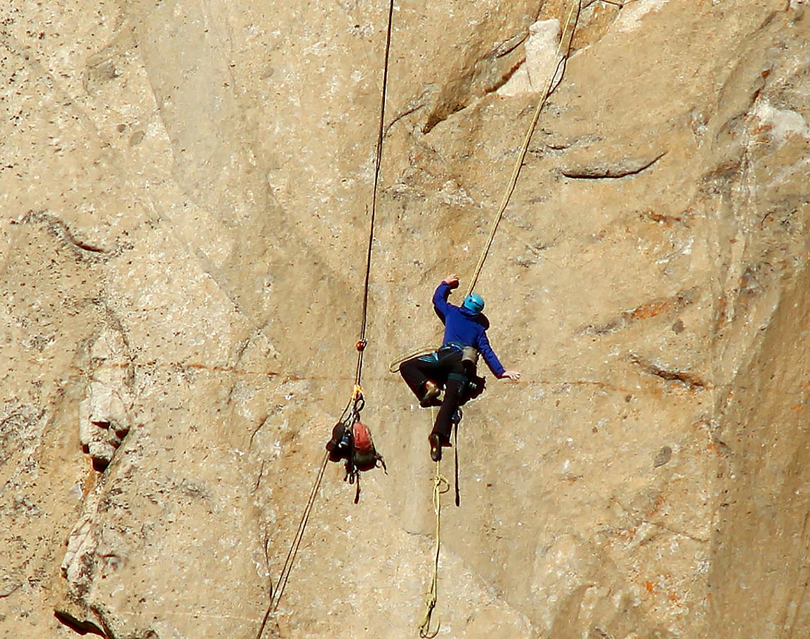 Kevin Jorgeson (in blue) on Pitch 8.