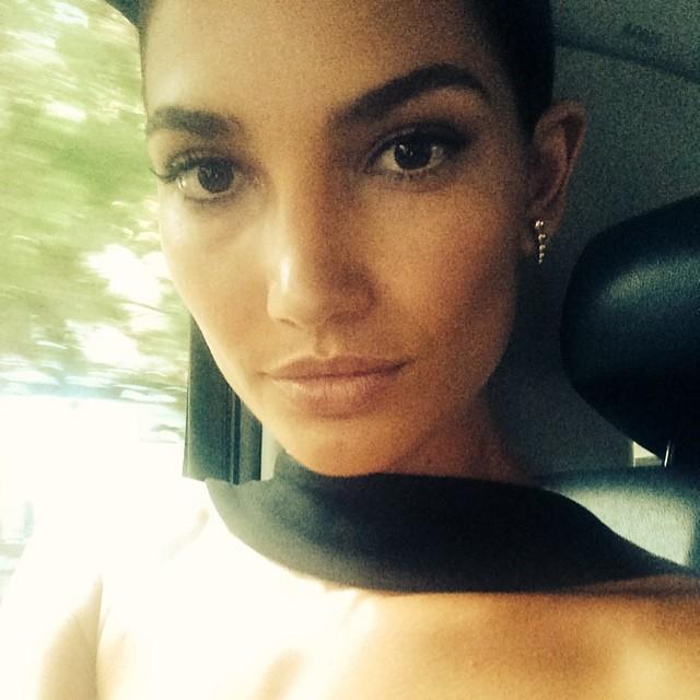 @CFDA bound!!! Makeup @cgonzalezbeauty hair @rdicuia emoji️ Thank you emoji @lamarque_nyc
