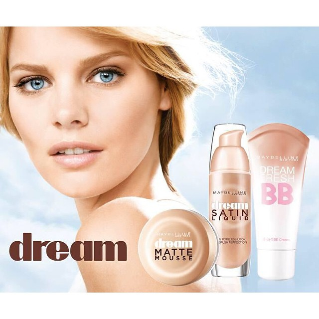 Get smooth skin with Dream foundation @maybelline #maybelline
