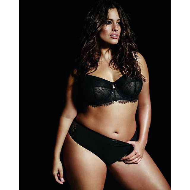 Thick and fabulous!!! Wearing my new #Essentials lingerie collection for @additionelle #AGxAdditionElle #beautybeyondsize #iamsizesexy