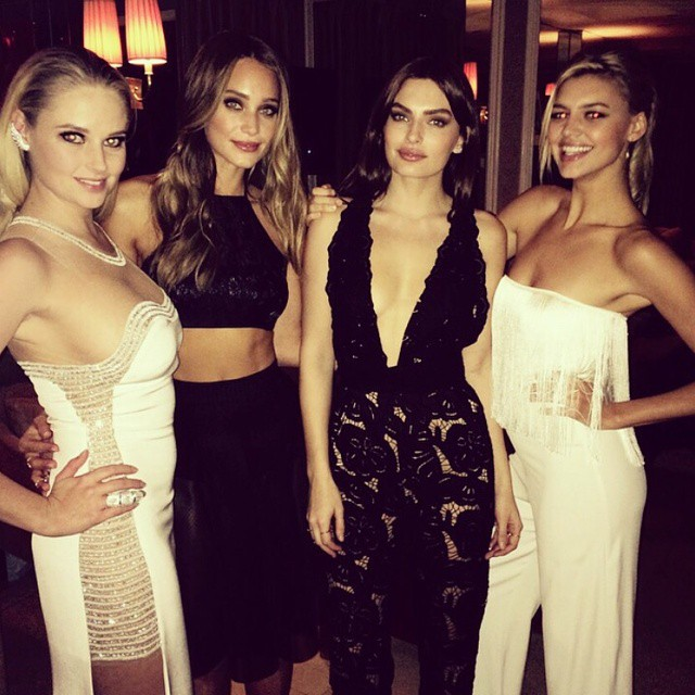 About last night with @hanni_davis @luvalyssamiller and @kellyrohrbach