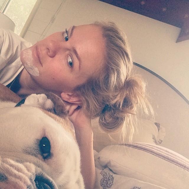 Costas loves selfies. I love zit medicine.