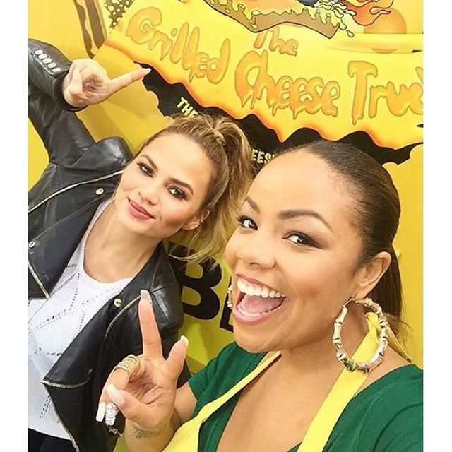 I just spent my day on the @grlldcheesetruk with @laurenmakk and I am now purely made of tots and cheese