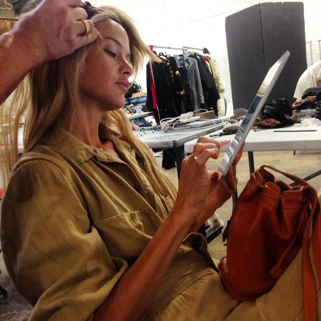 Behind the scenes with my favorite @shinola bag #myshinola #shinola #summeressential #americanmade emoji