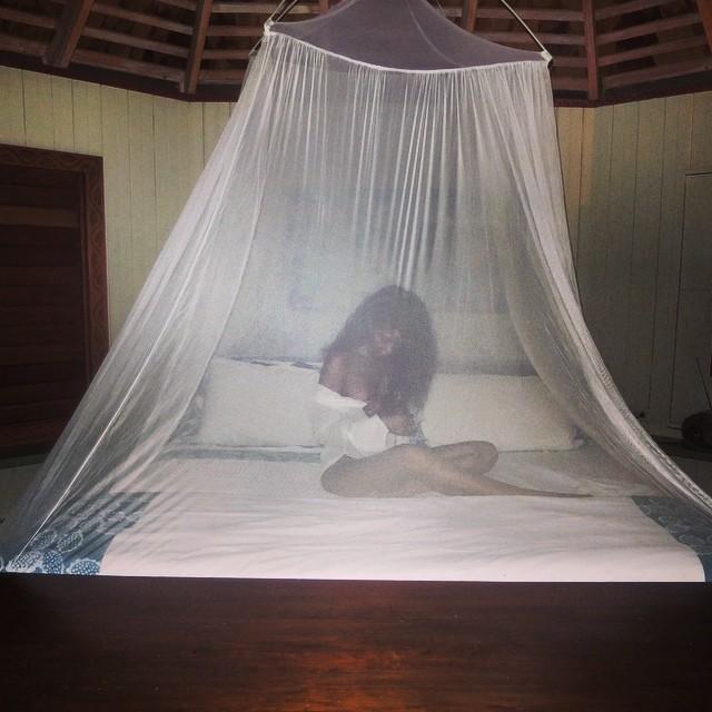 Island life #treehouse #Jamaica #nighttime
