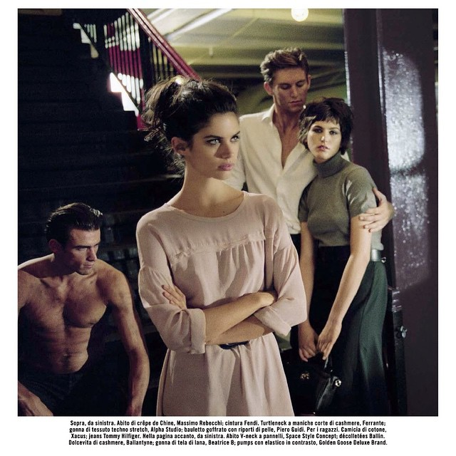 New @vogueitalia shot by #vincentpeters @oui_management @thelionsny