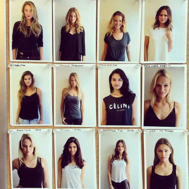 Beauties, every one of them! #gq #gqwomen #models #modelcasting