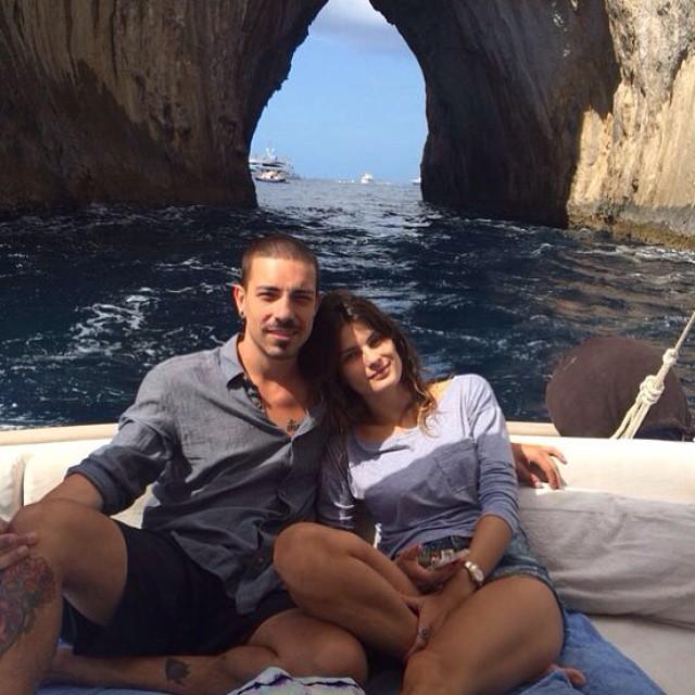 Good moments #greatvibe #capri #relax #italy emoji con mio amore @ferrerodi