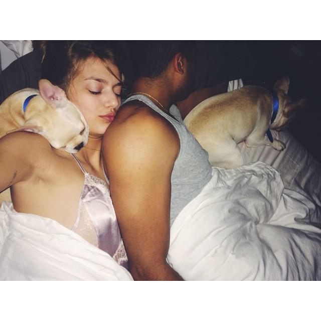 Goodnight! #happy #puppy's