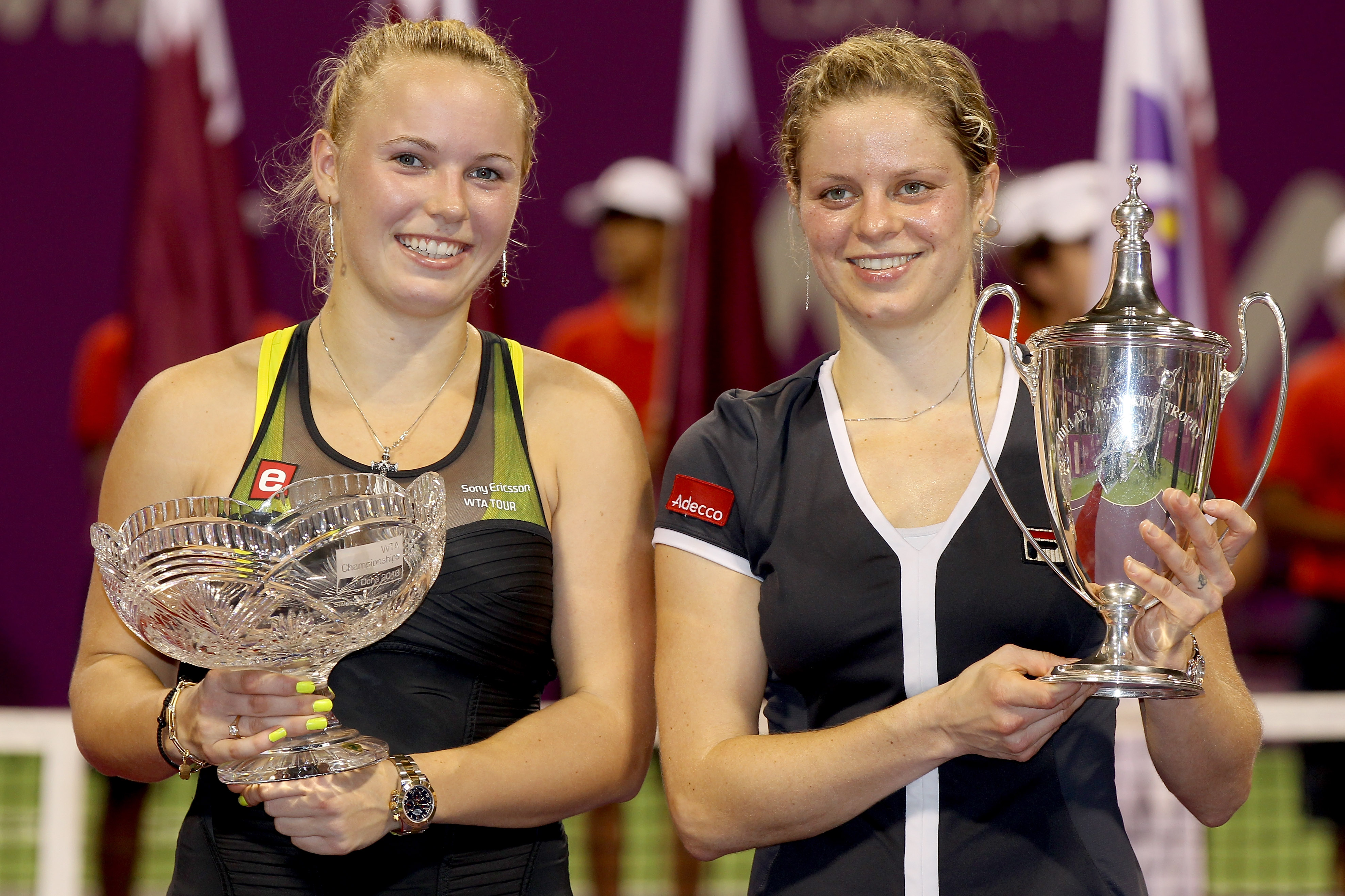 Kim Clijsters would win her last WTA Final title.