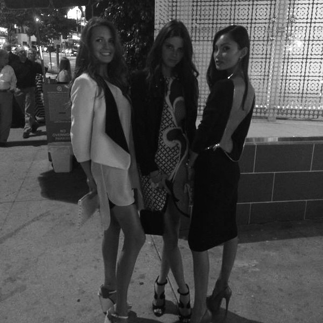 Girls night out! #LA #happytimes #lifeisbeautiful with @miss_olia_s @alina_maior