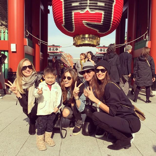 My Japanese family @ingarubenstein @nadejdasavcova @elenaisakova #happythanksgiving