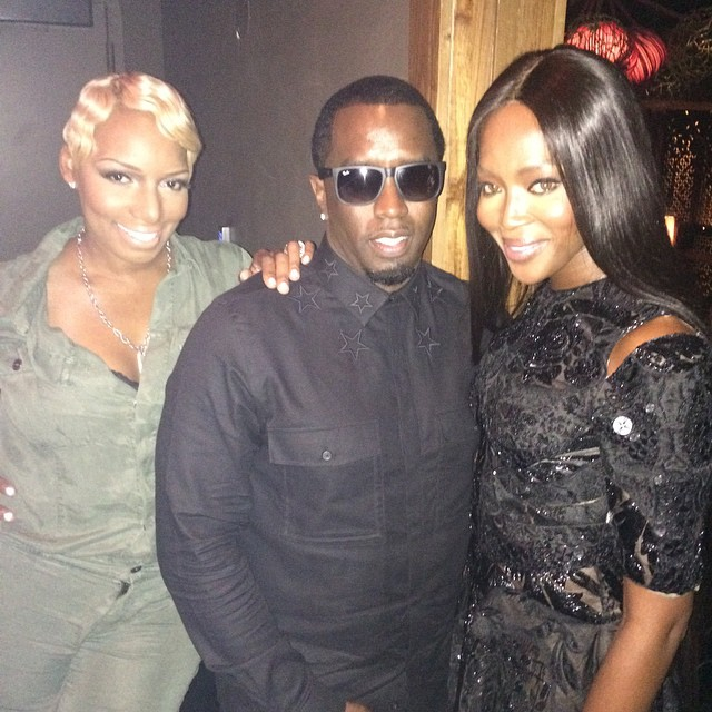 Ciroc & Deleon dinner with the Family @iamdiddy @neneleakes blessed #peace #proud of you both emoji