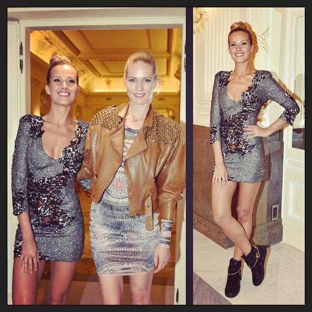 #lastnight at #UniqueFshionWeek in #alfredovillalba #dress with #KarolinaBosakova. #Fashion #Fashionweek @praguefashionweek #UFW #instagood #instagreat