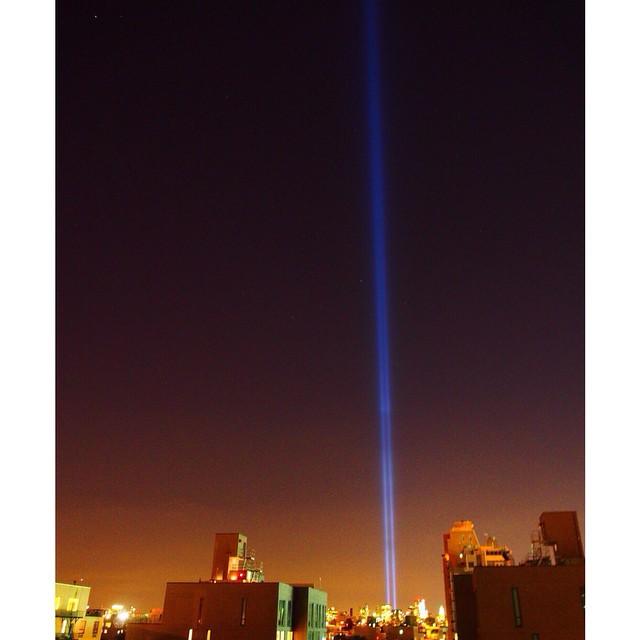 Good night NYcity #restinpeace #worldtradecenter #wtc #neverforget #september11 #911