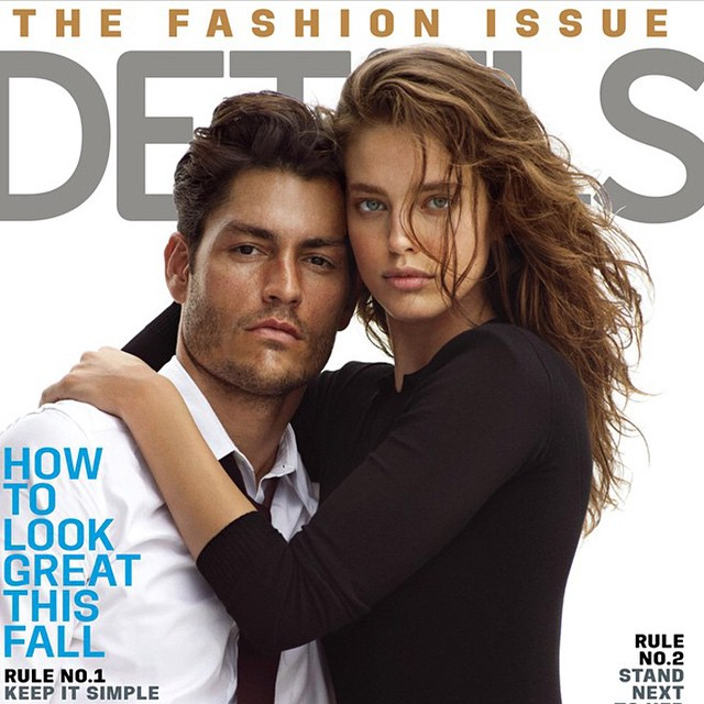 #flashbackfriday I loved this cover for @detailsmag with @boballouie @edskimstagram @imgmodels