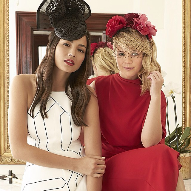 New @davidjonesstore racing campaign with @emma_freedman! Look forward to seeing you at the track! #djsracing #caulfieldcup