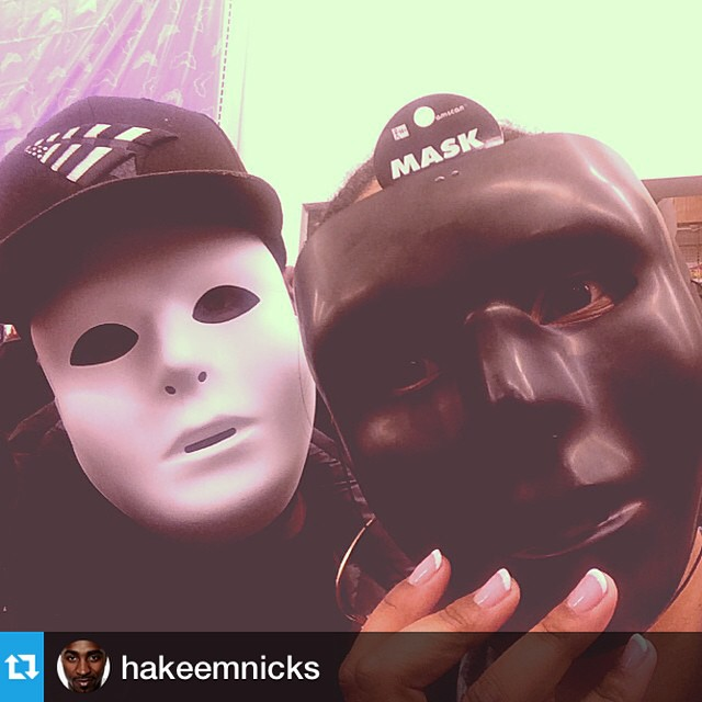 #Repost from @hakeemnicks with @repostapp --- Me and my lady... We're not ourselves when we hungry..