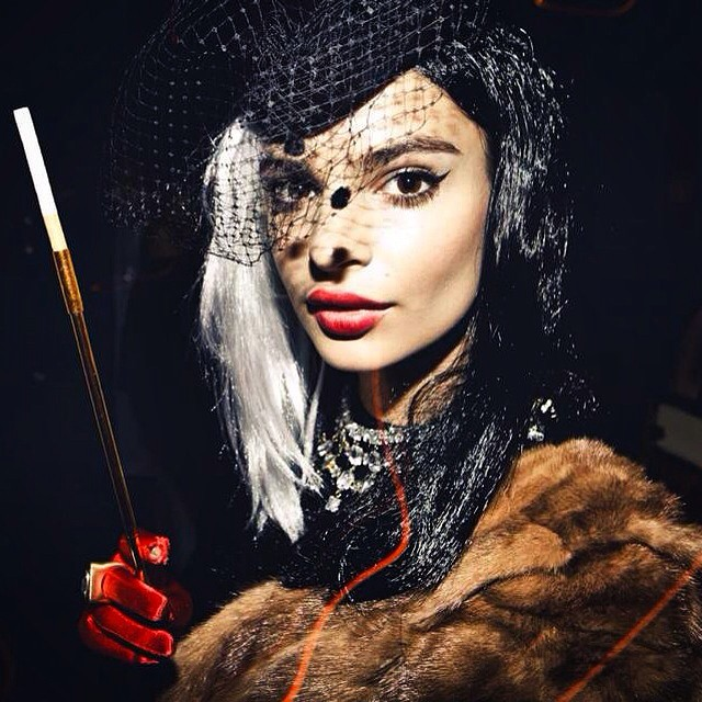The most wonderful time of the year: Throwback to the @vmagazine party. #Cruella