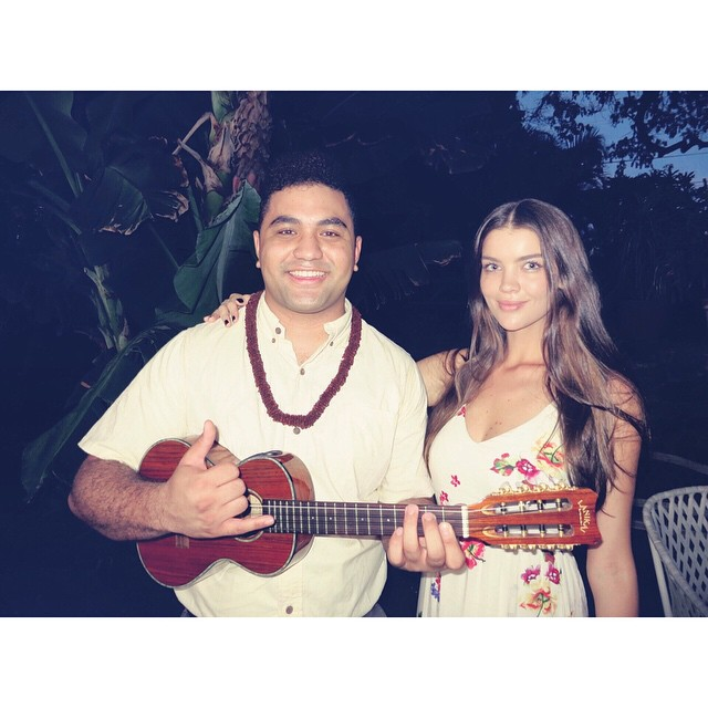 Our entertainment was so on point. #mahalo