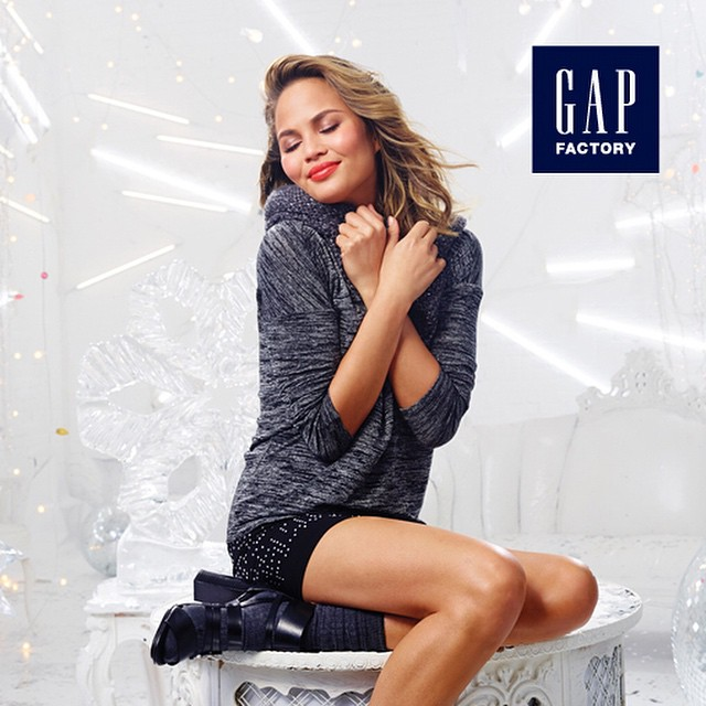 Excited to be a part of the Gap Factory @gapfs #ExclusivelyStyled Holiday campaign! The collection is in stores now!