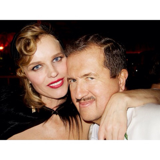 MY 60TH BDAY WITH EVA HERZIGOVA. @evaherzigova
