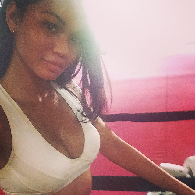 Drenched emojiemoji#workout #boxing #kickass