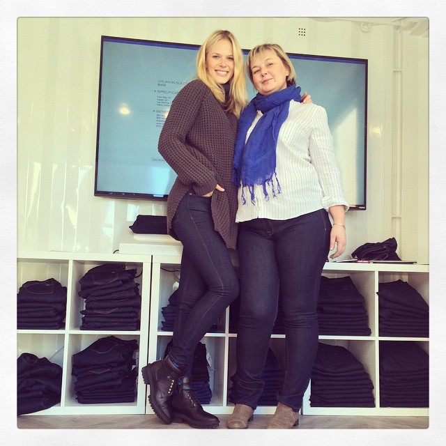 Mom and I had the best time at @dl1961denim digital doctor event #DLDenimDoctor! Absolutely love a company that embraces style, comfort and targets all shapes and sizes!