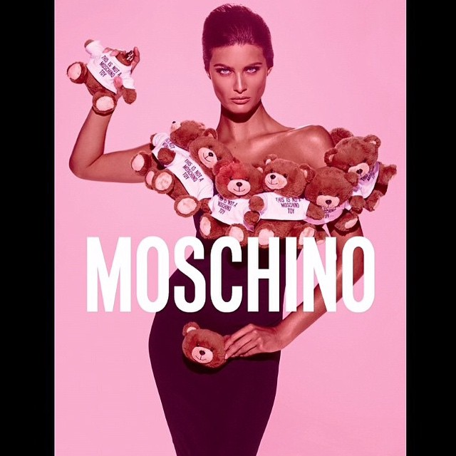Regram @itsjeremyscott most amazing new fragrance for @moschino Make up by amazing @patmcgrathreal styling by @carlynecerfdedudzeelem, shot by the one and only #StevenMeisel the king